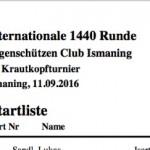 Startliste